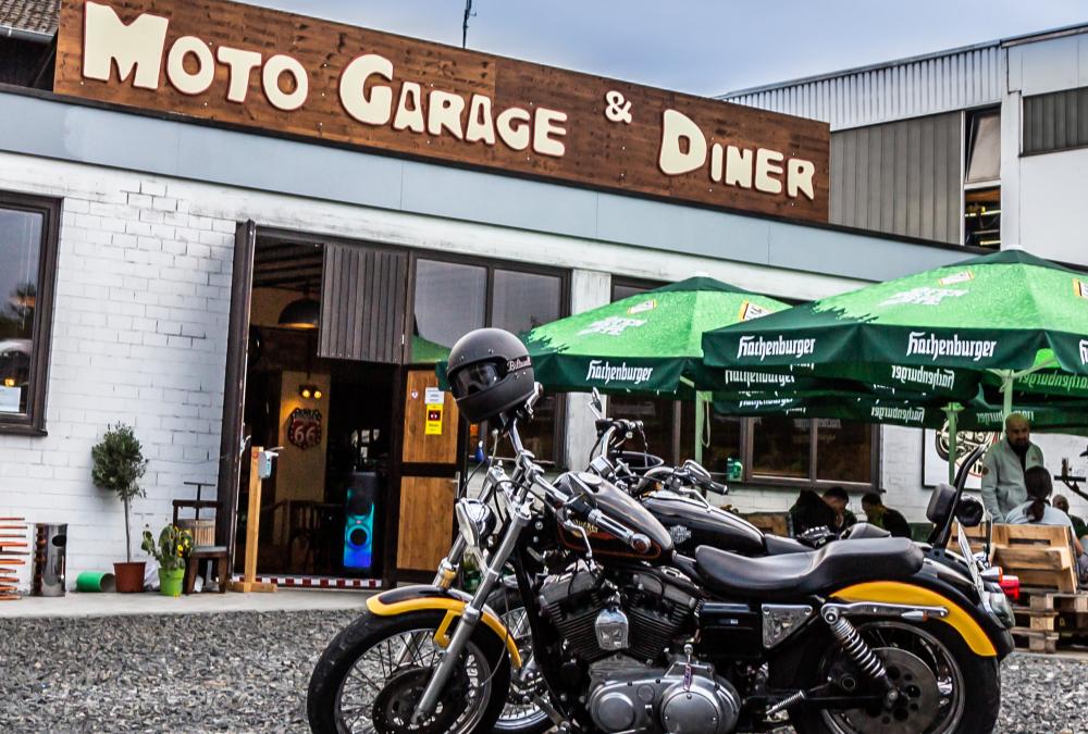 Geführte Motorradtouren mit Moto Garage & Diner