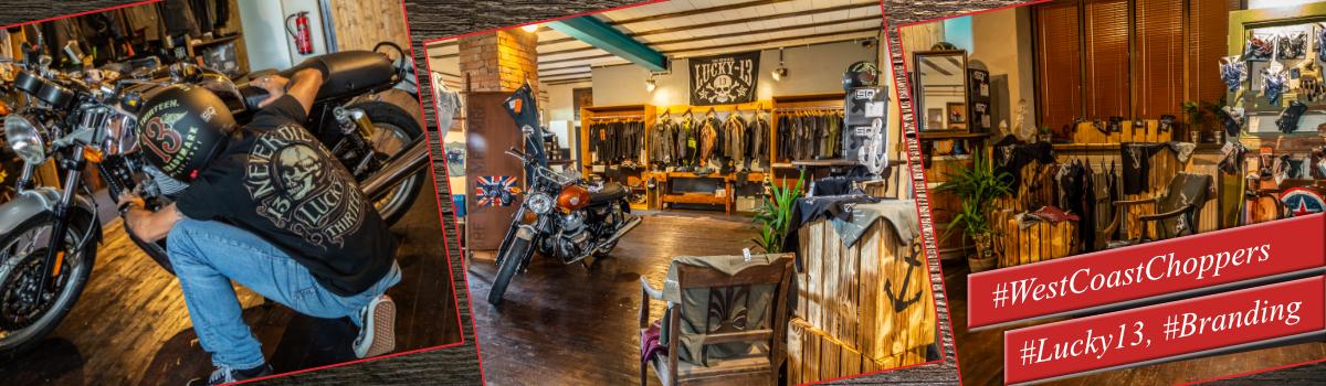 Store - Shop im Moto Garage Diner