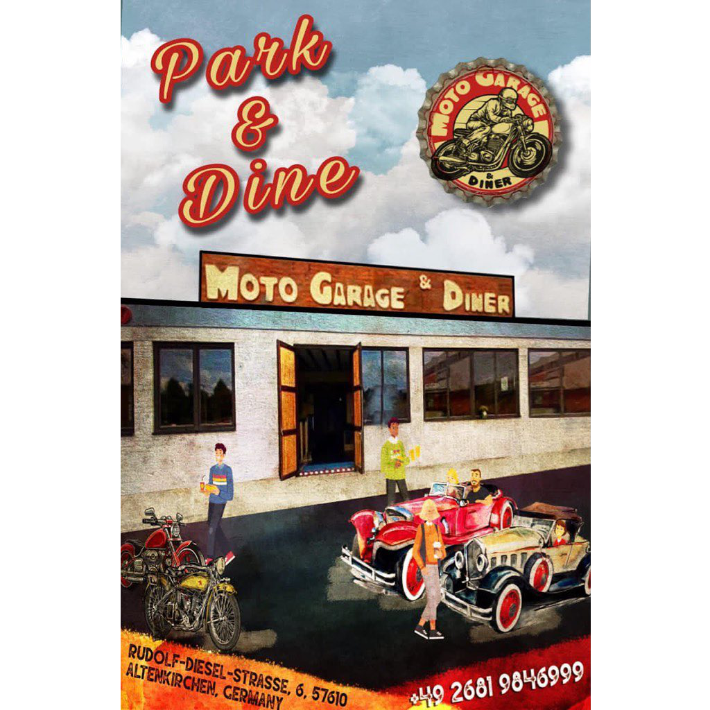 Moto Garage & Diner - Drive Inn - Park'n Dine